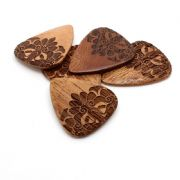 Mandala Tones - Pack of 4 Guitar Picks | Timber Tones